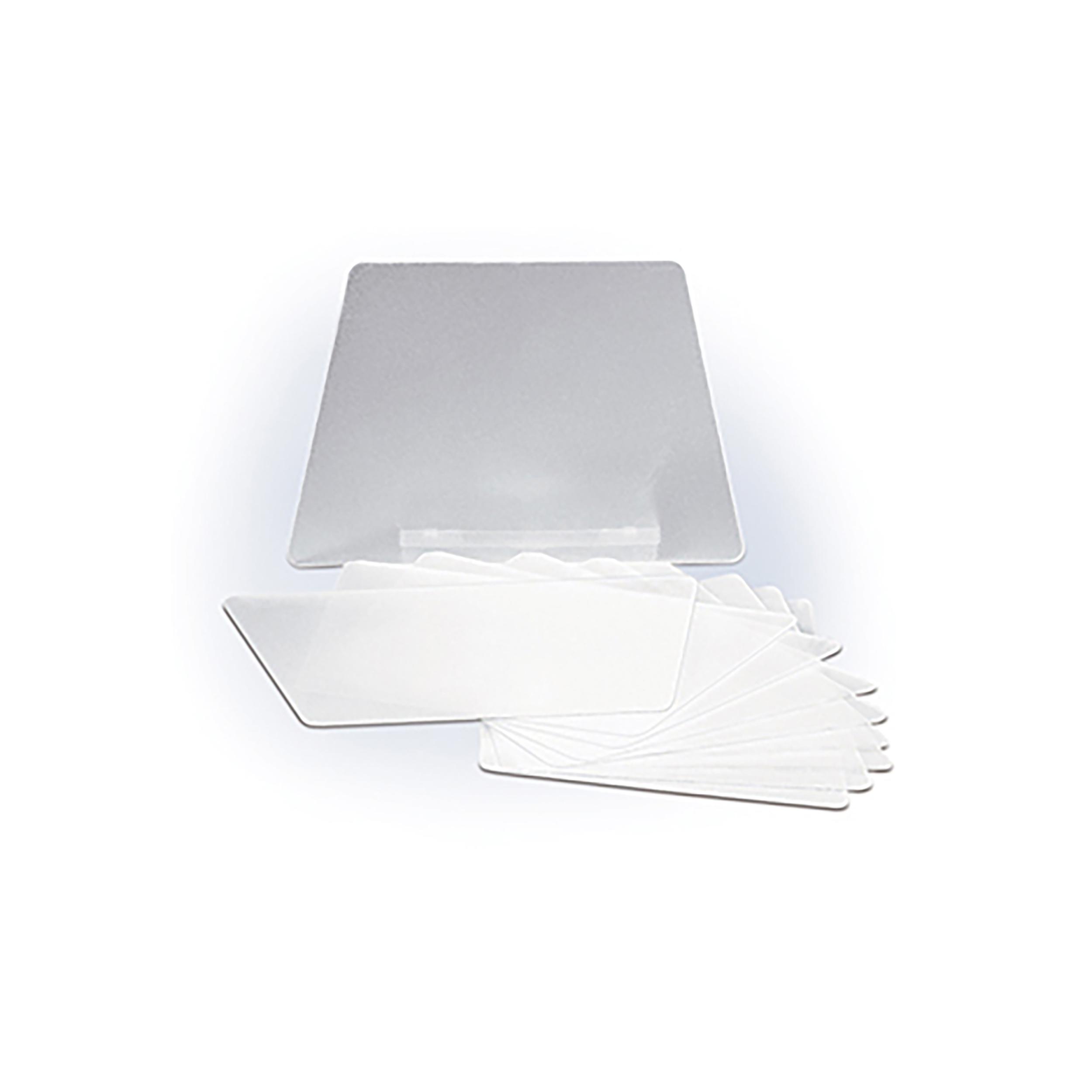 9562010 MicroCab Plus Plus Replacement Parts Replacement Shield, 10/Pkg., 91286