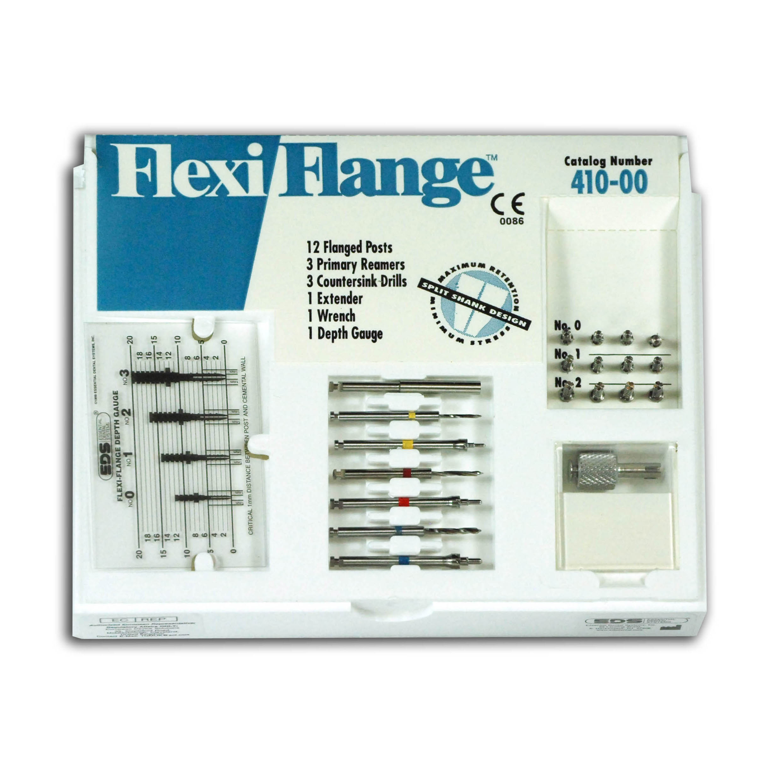 9530730 Flexi-Flange Stainless Steel Intro Kit, 410-00