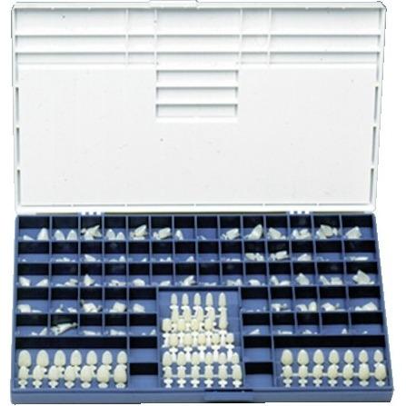 9518540 Polycarbonate Crowns 25, 5/Box