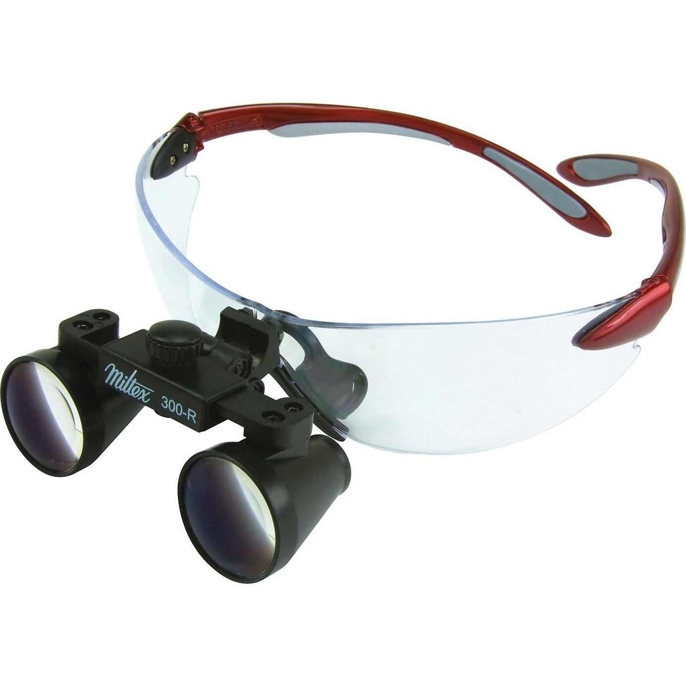 """9900960 Loupes Red Frame, 3.0x Kit, 13""""-16"""" Distance, 1-5005"""