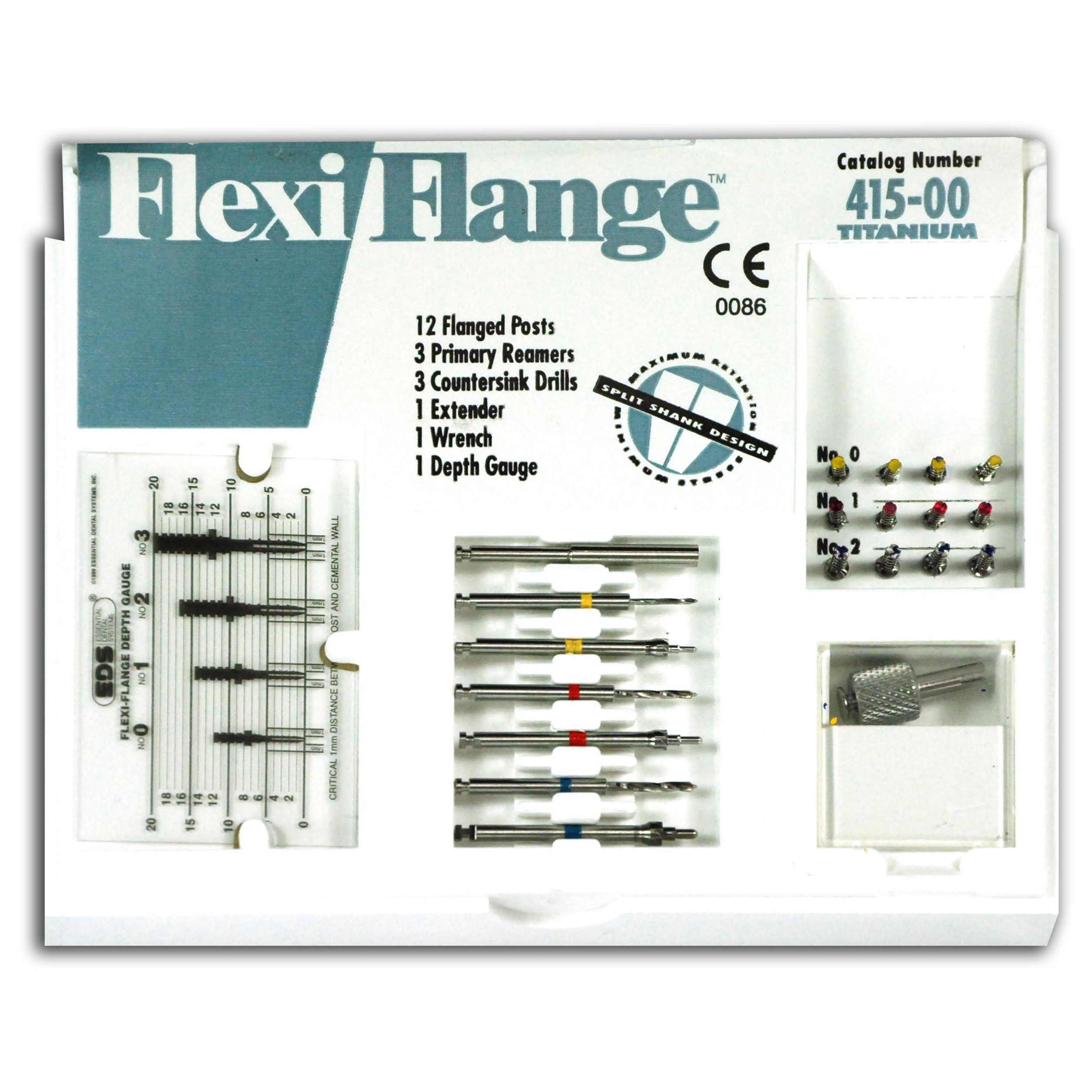 9530524 Flexi-Flange Titanium Intro Kit, 10/Pkg., 415-00