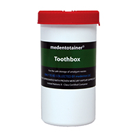 8950000 Medentotainer Toothbox, 0.25 Gallon, BOUS1900