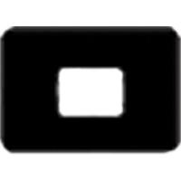 8854000 EZ-Tab Gray Plastic Series 1H for #2 film, 100/Pkg., 30-6011
