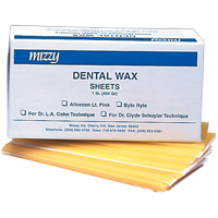 8697000 Mizzy Allcezon Baseplate Wax 1 lb., Pink, 6160100