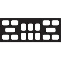 9084100 Cardboard X-Ray Mounts 8H  #2, 6V  #2, 2BW  #3, 100/Pkg., 16-6V-2BT