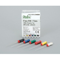 9025100 Flex-R Files Plastic-Handle 21 mm, #8, 6/Pkg, 14002
