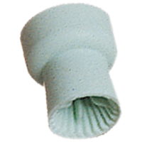 8281200 Prophy Cups 4 Web Snap-On, Soft Gray, 144/Pkg., 530414