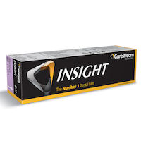 8334200 Insight Dental Film Size 1 Anterior, Paper, IP-11 Single Film, 100/Pkg, 1124981