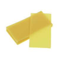 9527200 Bite Wax, Yellow Yellow, Bite Wax Sheets, 1 lb.
