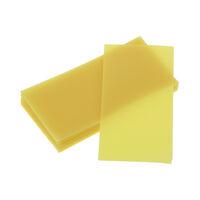 9527200 Bite Wax, Yellow Yellow, Bite Wax Sheets, 1 lb.