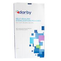 "9508200 Self-Sealing Sterilization Pouches 7.5"" x 13"", 200/Box"