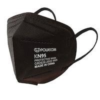 5252300 Powecom KN95 Face Masks Powecom KN95 Face Masks,10/Bag,Black,KN95PWCMBK