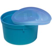 3460400 Denture Cup Turquoise, 8 oz., 50/Pkg.