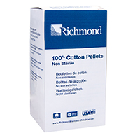 "8840400 Cotton Pellets Size 0, 11/32"" Diameter, 400/Pkg., 100105"