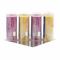 9532400 Microbrush Tube Series Fine, Pink/Yellow, 100/Tube, 4/Pkg, MFA400