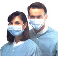 8521500 Sof-loop Face Masks Anti-Fog, Blue, 50/Box, 42291-01
