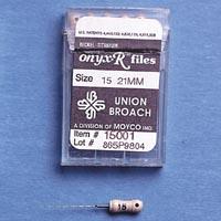 9025600 Onyx-R Files 21 mm, #15, 6/Pkg., 15001