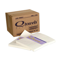 "3401700 Q-Towels 9"" x 12"", White, 125/Pkg, 12 Pkg/Case, 1500"