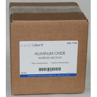 9851700 Aluminum Oxide 50 Micron, White, 25 lb.