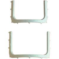 """8441800 Hygenic Rubber Dam Frames 5"""", Plastic, HO1416"""