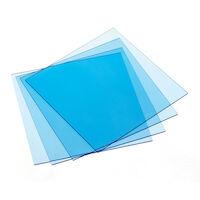 9522010 Sheet Resin Materials Tray Material, .100, Clear, 25/Box, 9615040