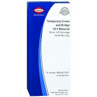 9430110 Temporary Crown and Bridge 10:1 Material Bleach, 50 ml Cartridge