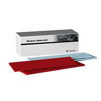 8496110 Modern Materials Utility Strips & Square Ropes Strips, Small, Red, 114/Pkg., 50094293