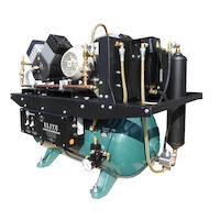 4455020 Ultra Clean Oil-less Air Compressors Double Head, 4 User, 230 volt, ACO4D2