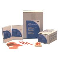8295020 Triad Materials Denture Base, Light Pink, Fibered, 30 Sheets, 95750