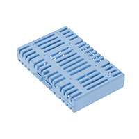 9559220 Steri-System Cassette AA Shallow, Baby Blue, 32525