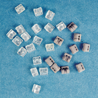 0051320 Rotation Wedges Clear, 50/Pkg.