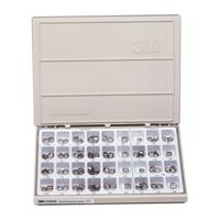 8454320 Unitek Permanent Stainless Steel Molar Set Complete Kit, 902350