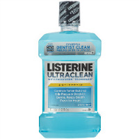 2571420 Listerine Ultraclean Artic Mint, 1.5 L, 6/Case, 524225900