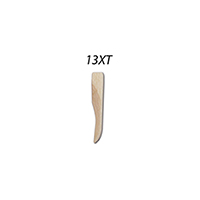 8782520 Sycamore Wood Wedges Extra Thin, Neutral, 400/Pkg., 9061100