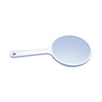 "9516520 Hand Mirrors Plane/Plane, 3 1/2"", FD350PP"