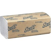 3430130 Scott Surpass Towels Single Fold, 1-Ply, 250/Pkg, 16 Pkg/Case, 1700