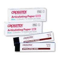 2211130 Articulating Paper Extra Thin Blue, 38 Microns, 12/Box, TPXT