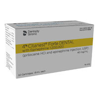 8050230 Citanest Forte, 50/Box, 48816