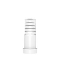 4970430 Anti-Rotation Anatomic Titanium/Plastic Abutments Plastic for Anatomic Abutment, 10 mm, AGM-207-PH
