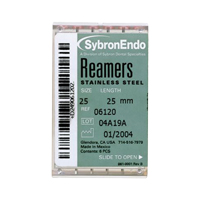 8544430 Reamers 21 mm, 25 mm 25 mm, #20, 6/Pkg., 06112