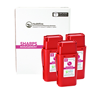 3170730 Sharps Recovery Dental Containers 1 Quart, 3/Box, 3875
