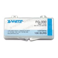 8900730 Carbide Burs FG 100/Pkg. Pear, 330, 100/Pkg., 13330