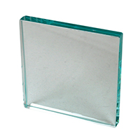 "9905730 Glass Mixing Slab 4"" x 4"" x ½"", Glass"