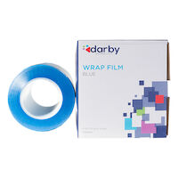 "9530040 Wrap Film 4"" X 6"", Blue, 1200 Feet/Roll"
