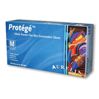 9531040 Protege Nitrile Blue PF Gloves Small, 100/Box, 93996