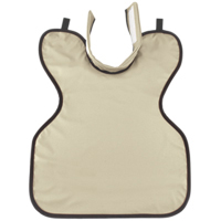 8852040 Child Soothe-Guard Air Lead-Free Aprons w/ Thyroid Collar, Dove Gray, 8610047