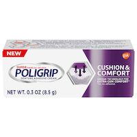 5250240 Poligrip Cushion & Comfort Denture Adhesive Cream Poligrip Max Seal Fix CR, 0.3 oz, 60000000120306