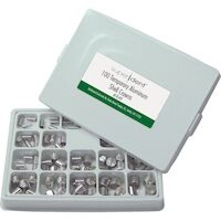 9500740 Aluminum Shells Assorted, 1 - 20, 100/Box