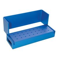 9590050 Aluminum Bur Blocks 27 FG, Blue, AB100-1U