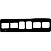 9084050 Cardboard X-Ray Mounts 4H-2V  #2, 100/Pkg., 6-2V